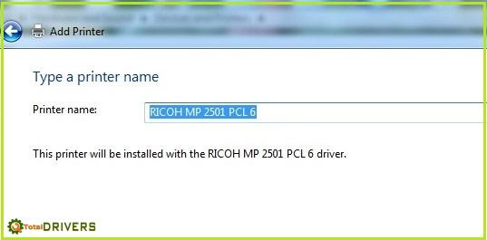 Ricoh IP install 9 totaldrivers.net