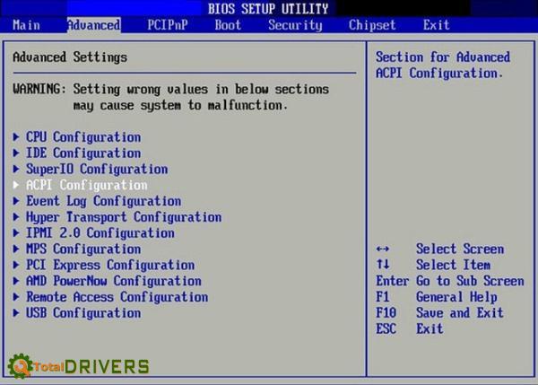 Truy cập BIOS trên máy tính