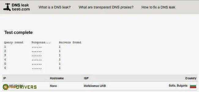 Check the NextDNS setup