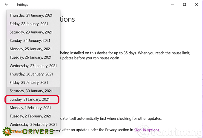 How to turn off Windows Update on Windows 10