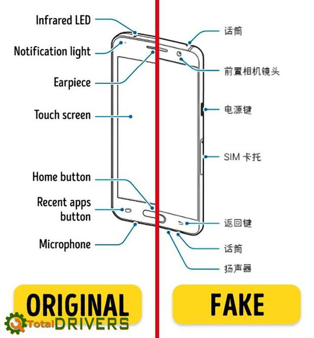 Six useful tips to help distinguish real or fake electronic devices that not everyone knows